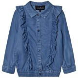 Little Remix Denim Little Remix Frill Blouse