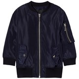 Little Remix Navy Little Remix Liana Lace-Up Bomber Jacket