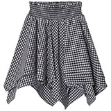 Little Remix Black and White Little Remix Amy Gingham Skirt