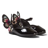Sophia Webster Mini Black and Multi Chiara Butterfly Shoes