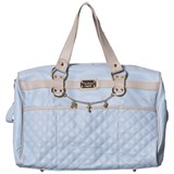 Mayoral Blue Faux Leather Quilted Changing Bag