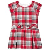 Mayoral Red Plaid Dress