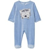 Absorba Blue Tiger Applique Velour Babgrow