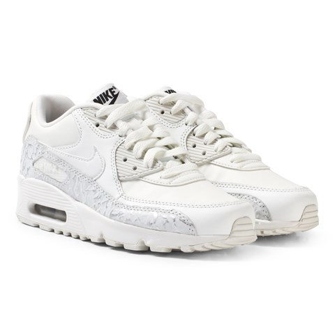 6830679cbb4e Nike White Girls´ Air Max 90 Leather SE Junior Shoe