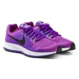 Nike Girls´ Purple Nike Zoom Pegasus 34 Junior Running Shoe