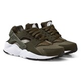Nike Boys Green Nike Huarache Junior Run Shoe