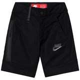 Nike Black Woven Tech Shorts