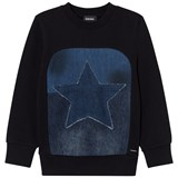 Diesel Black Star Graphic Knit Sweater
