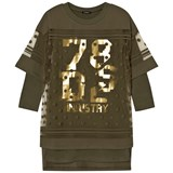 Diesel Green 78 GS Logo Knit Dress