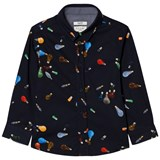 Paul Smith Junior Navy Lightbulb Print Shirt