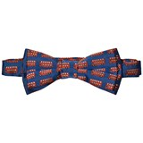 Paul Smith Junior Royal Blue London Bus Bow Tie