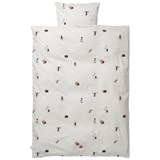 ferm LIVING Party Print Baby Bedding