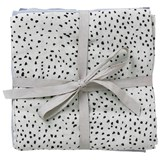 ferm LIVING Pack of 3 Mint Dot Muslin Sqaures