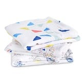 Aden + Anais Pack of 3 Colour Graphic Musys