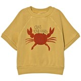 Bobo Choses Yellow Crab Your Hands Sweatshirt
