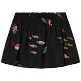 Bobo Choses Black Deep Sea Print Flared Skirt