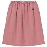 Bobo Choses Pink Vichy Long Flared Skirt