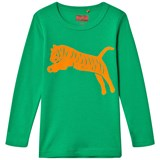 Tapete Green LS T-shirt with orange tiger