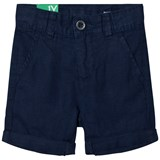 United Colors of Benetton Navy Chino Shorts