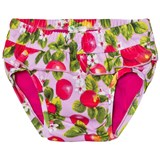 United Colors of Benetton Pink Peaches Print Frilly Swimming Briefs