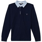 Gant Navy Sweatshirt with collar