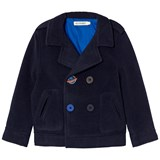 Billybandit Navy Peacoat with Space Embroidery