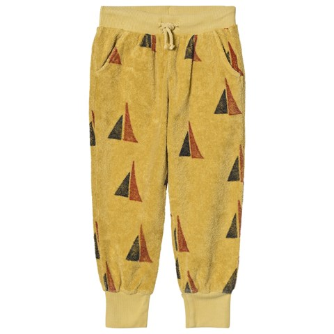 Bobo Choses Yellow Sailing Print Alma Track Pants