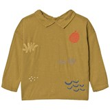 Bobo Choses Mustard Sea Junk Embroidered Blouse