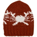 Bobo Choses Rust Crab Knitted Beanie