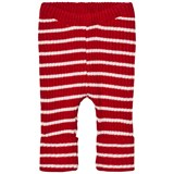 Bobo Choses Baby Knitted legging Red Stripes