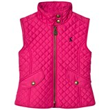 Joules Fuchsia Quilted Gilet