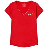 Nike Girls Red Nike Pure Top