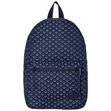 Armani Junior Grey All Over Logo Backpack