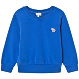 Paul Smith Junior Blue Sweater with Zebra Badge