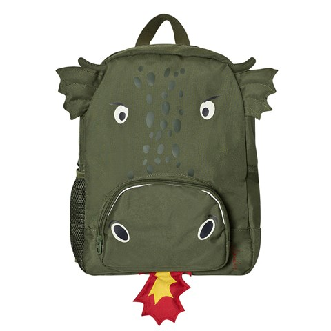 Joules Green Dragon Backpack