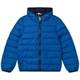 Timberland Kids Royal Blue Water Repellent Ultralight Hooded Puffer