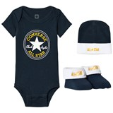 Converse Navy set body, hat and booties