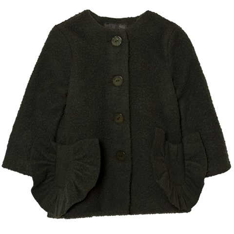 Wolf & Rita Dark Green Adriana Coat