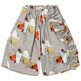 Wolf & Rita Grey No Electricity Print Susana Trousers