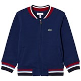 Lacoste Blue Sweat Bomber Jacket