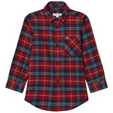 Lacoste Red Tartan Flannel Shirt