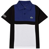 Lacoste Navy and Blue Superlight Polo