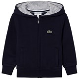 Lacoste Navy Branded Hoody