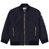 Paul Smith Junior Navy Bomber Jacket with Quilted Lining