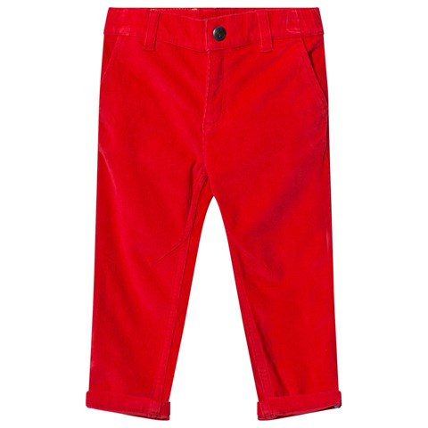 Billybandit Red Cord Trouser