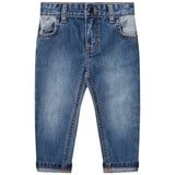 Billybandit Blue Slim Fit Jean with Contrast Pocket Detail