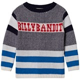 Billybandit Multi-Stripe Retro Branded Jumper