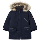Absorba Navy Padded Hooded Coat