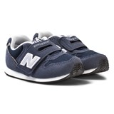 New Balance Navy Velcro Strap Trainers