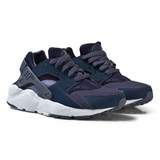 Nike Boys Navy Nike Huarache Junior Run Shoe